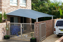 Residential Shade Sail by South East Shade Sails